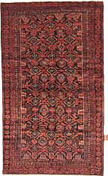 Nain Trading Baluch Rug 50x210 Dark Brown/Rust (Iran/Persia, Wool, Hand-Knotted)