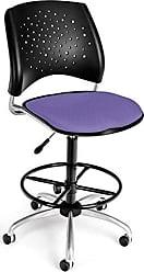 OFM 326-DK-2202 Stars Swivel Stool with Fabric Seat
