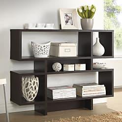Baxton Studio Cassidy 4 Level Bookshelf - FP-4DS-SHELF