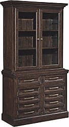 Ashley Furniture Signature Design H636-60H - Townser 45 Credenza Hutch - Hutch Component ONLY - Grayish Brown - Traditional