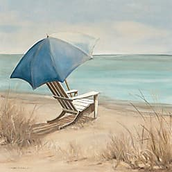 Portfolio Canvas Decor Summer Vacation I by Carol Robinson Wrapped Canvas Wall Art, 24x24