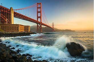 Noir Gallery Golden Gate Bridge Metal Wall Art - TI-01-MP-08