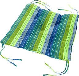 Cushion Source 24 x 20 in. Striped Sunbrella Chair Back Cushion Foster Surfside - FUJNE-56049