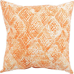Jaipur Living Rugs Veranda Southwestern Diamond Indoor Throw Pillow Mandarin Orange - PLP100078