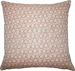 The Pillow Collection Ladarius Geometric Bedding Sham Tangerine Standard/20 x 26