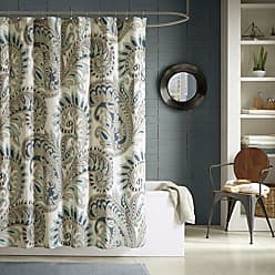 Ink + Ivy Ink+Ivy Mira 200TC Shower Curtain 72x72 Blue, 72 x 72
