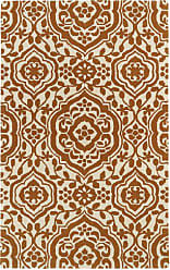 Kaleen Rugs Evolution Collection Hand Tufted Orange Rug (2 x 3)