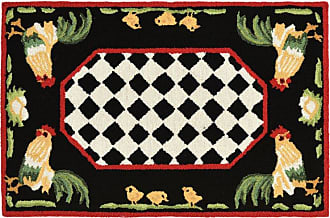 Liora Manne Frontporch Rooster Indoor/Outdoor Area Rug, Size: 2 x 5 ft. - FTPR5240848