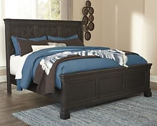Ashley Furniture Tyler Creek Queen Panel Bed, Black