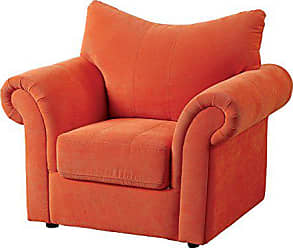 FURNITURE OF AMERICA 24/7 Shop at Home 247SHOPATHOME IDF-6004OR Living-Room-Chairs, Orange