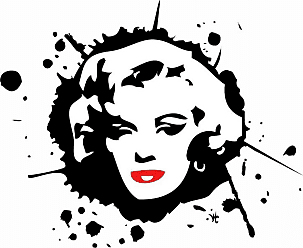 Louis Leonard Art Marilyn Monroe X by William Cuccio Canvas Wall Art - WIC030-1818