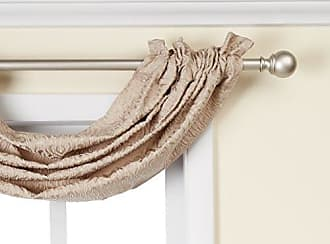 Five Queens Court Sutherland Waterfall Toga Valance, 39 x 28, Natural