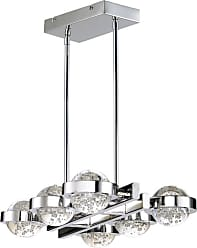 ET2 E30616 Cosmo 22-1/2 Wide LED Chandelier Polished Chrome Indoor