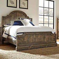 Progressive Furniture P632-34/35/78 Meadow Bedroom, Queen, Weathered Gray