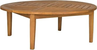 Ashley Furniture Halsted Round Table, Teak