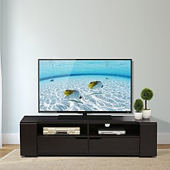 Furinno FVR Entertainment Center with 2 Drawers - Wenge - FVR7278WG