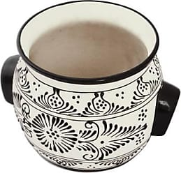 Novica Ceramic crock, Black Michoacan