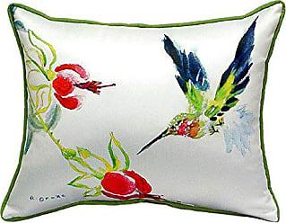 Betsy Drake SN330 Betsys Hummingbird Pillow, 11 x14