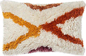 Loloi Rugs Loloi P0632 Pillow Cover Only/No Fill, 13 x 21, Orange/Red