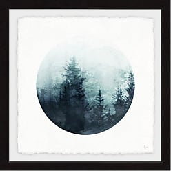 Marmont Hill Shadowy Woods Framed Painting Print - MH-NORD-99-BFPFL-12