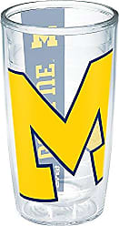 Trevis Tervis 1190231 Michigan University Colossal Wrap Individual Tumbler, 16 oz, Clear