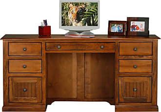 Eagle Furniture Coastal Customizable Double Pedestal Desk - 72207NGHG