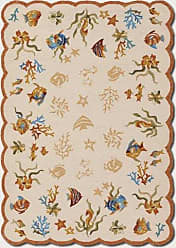 Couristan Couristan 2133/1015 Outdoor Escape Coral Dive/Sand 2-Feet 6-Inch by 8-Feet 6-Inch Runner Rug