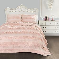 Lush Décor Belle Quilt Set by Lush Decor Blush, Size: Twin - C43431P15-000
