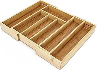 Variabler Besteckkasten ausziehbar f/ür K/üche-Schublade 24,5 auf 39 cm auf 4 bis 5 F/ächer verstellbar in Gr/ün Von ca