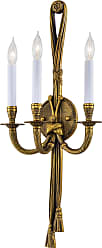 Metropolitan N682 Three Light Wall Sconce in French Gold finish with None