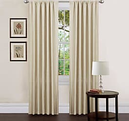 blickdichte gardinen in wei 242 produkte sale ab 3 63 stylight. Black Bedroom Furniture Sets. Home Design Ideas