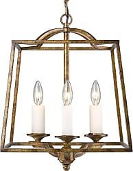 Golden Lighting 3072-3P Athena 3 Light Multi Light Pendant Grecian