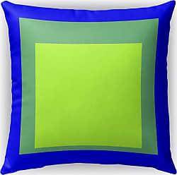 Kavka Designs Color Theory Blocks Square Layers Accent Pillow Yellow / Gray / Orange - IDP-DI16-16X16-BBA6525