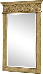 Elegant Lighting Elegant Decor VM-1002 Danville Traditional Mirror, 25, Antique Beige