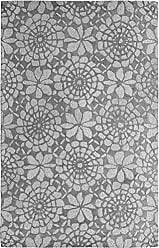 Dynamic Rugs PC9125333414 Palace 5333-414 Rug, 8 by 11, Ivory/Grey