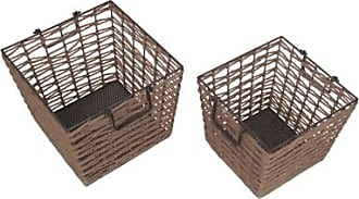 Ashley Furniture Home Accents Basket (Set of 2), Brown