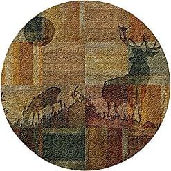 Thirstystone Elk Parquet Cork Trivet