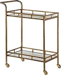 Ashley Furniture Home Accents Esther Bar Cart, Metallic