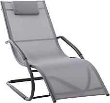 Ashley Furniture Patio Wave Lounger, Gray
