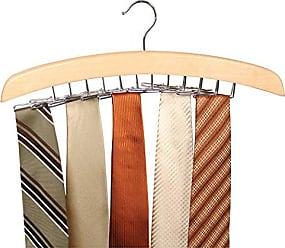 Richards Homewares Imperial Hanging Swing Arm Tie Hanger-Holds 24 Ties, Blonde