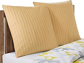 Ink + Ivy Camila 200TC Quilted Euro Sham, Yellow