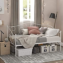 Furinno FDB222T-WH Angeland Carca Metal Daybed, Twin, White