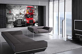 Ideal Decor Taxi and Bus Wall Mural - DM698