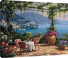 Brushstone Tremont Hill Sung Kim Villa Della Fontana Gallery Wrapped Canvas, 24x32