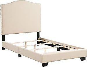 Boraam 95138 Dione Box Twin Bed, Tan