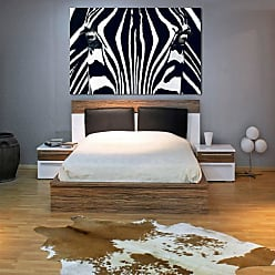 Ideal Decor Black and White Wall Mural - DM684