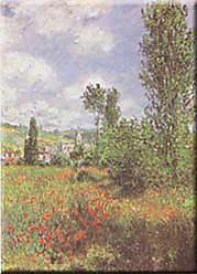 Buyartforless Buyartforless Lle St. Martin Claude Monet 39x28 Art Print Poster