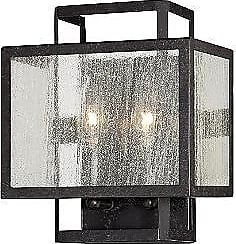 Minka Lavery Camden Square Clear Wall Sconce