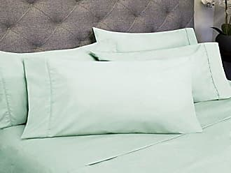 Sweet Home Collection 6 Piece 1800 Count Olivia Branch Microfiber Bedroom Sheet Set, Full, Mint