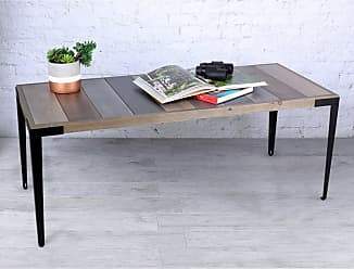 Art Maison Canada Coffee Table with Metal Legs - HAYIMFUR99